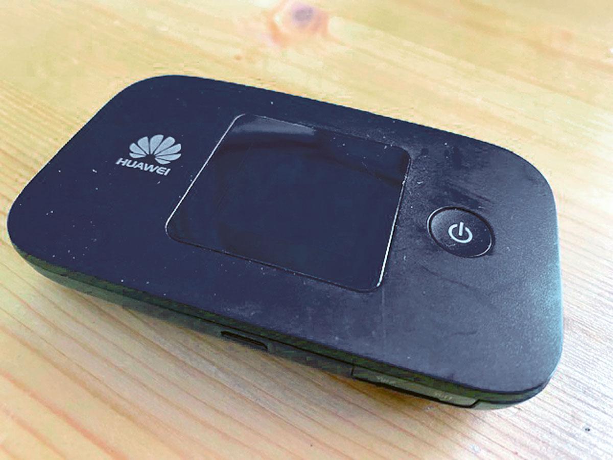 Huawei 150 Mbit-LTE-Accesspoint - Ausrüstung Silencer137