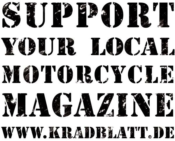 Support Kradblatt