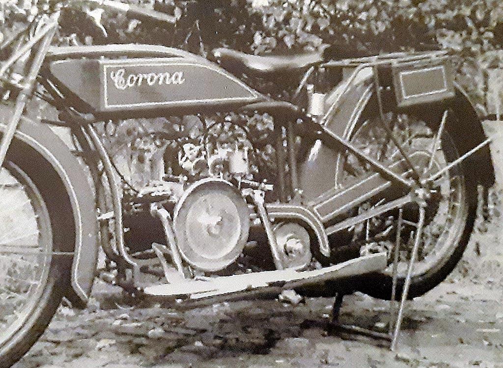 Corona, Brandenburg/Havel, baute Motorräder von 1902 bis 1924