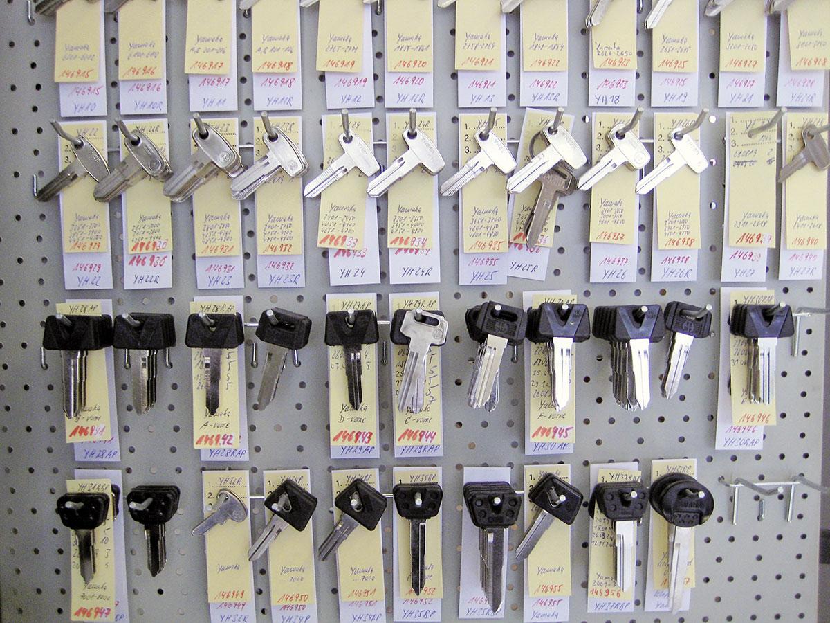 Ersatzschlüssel-Rohlinge bei Lock-Expert Krämer