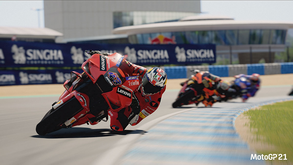 MotoGP21 Videospiel - 4K Auflösung