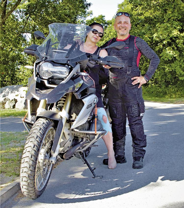 Janina - GS Fan in Estland - Motorradreise ins Baltikum