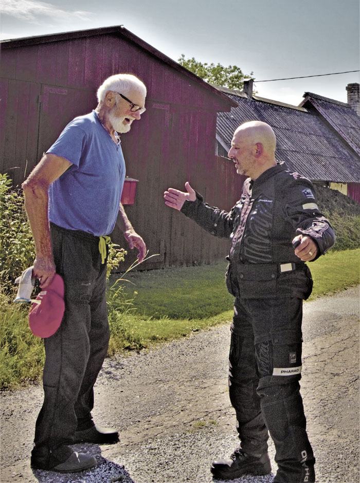 Begegnungen - Motorradreise ins Baltikum