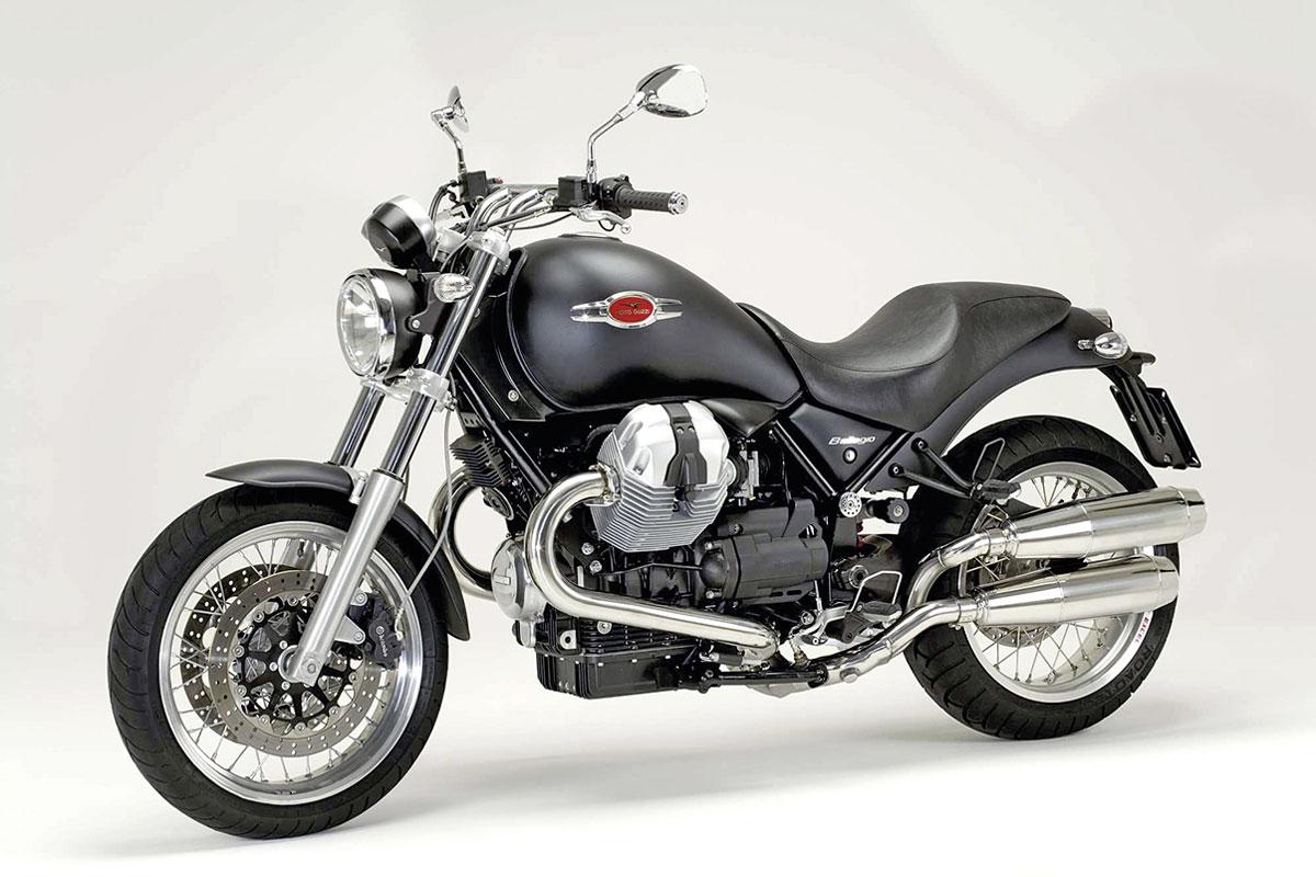 Die Basis für den Moto Guzzi Bellagio Cafe Racer