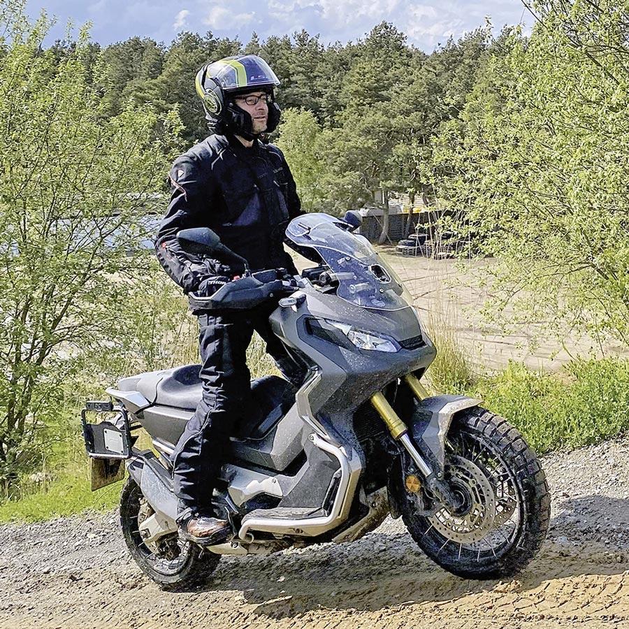 ADAC Adventure-Bike-Training - auch der Honda X-ADV durfte mitspielen
