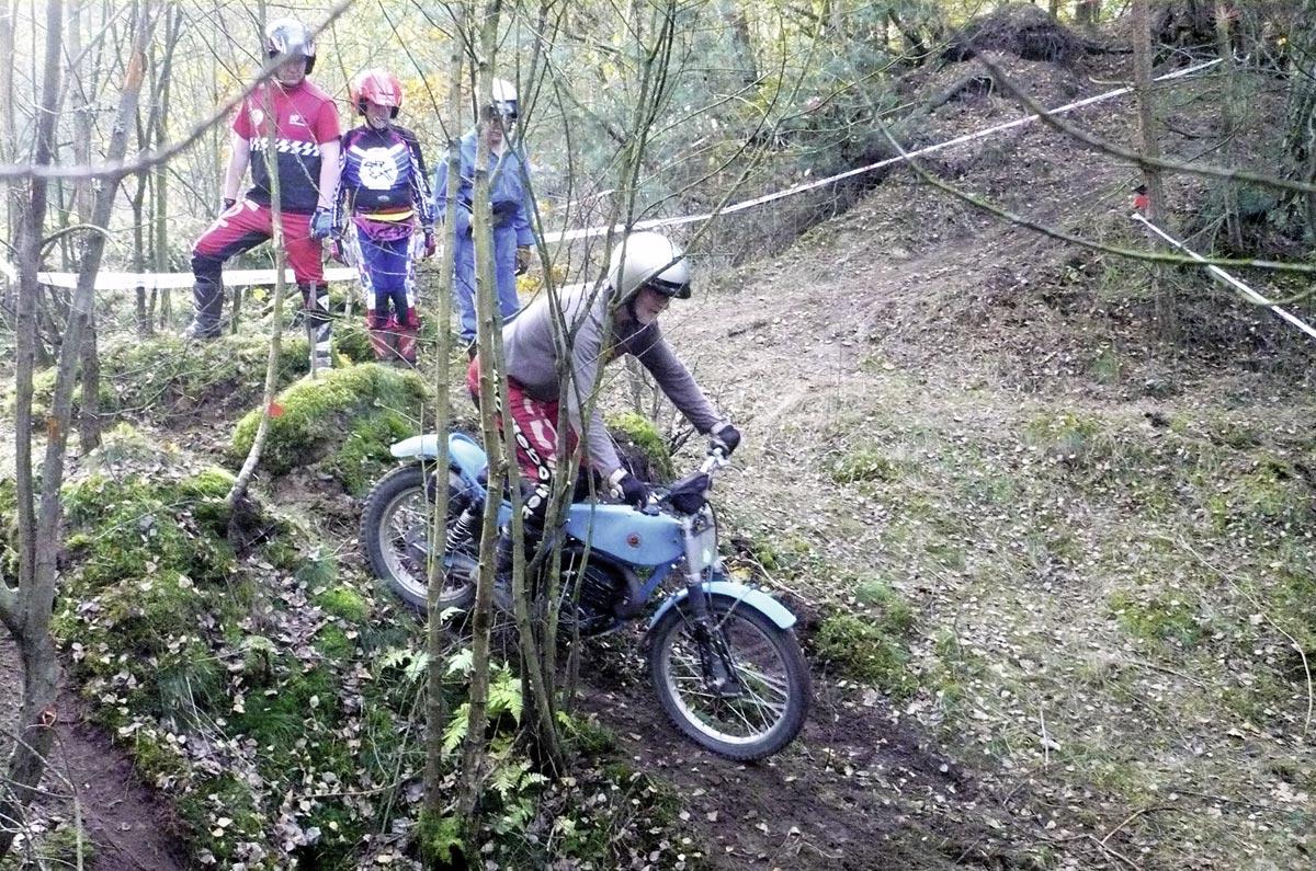 Classic Trial mit Bultaco T 350