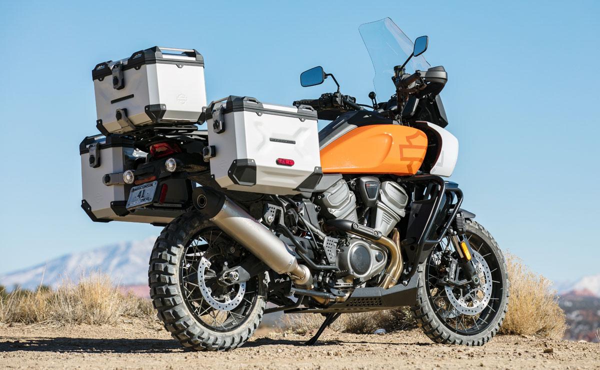 Harley-Davidson Pan America mit Vollausstattung