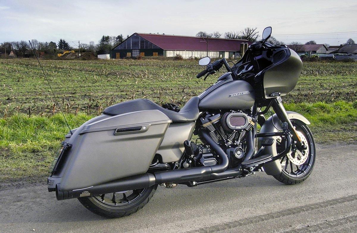 Harley-Davidson Road Glide mit 131 CUI Stage IV Kit