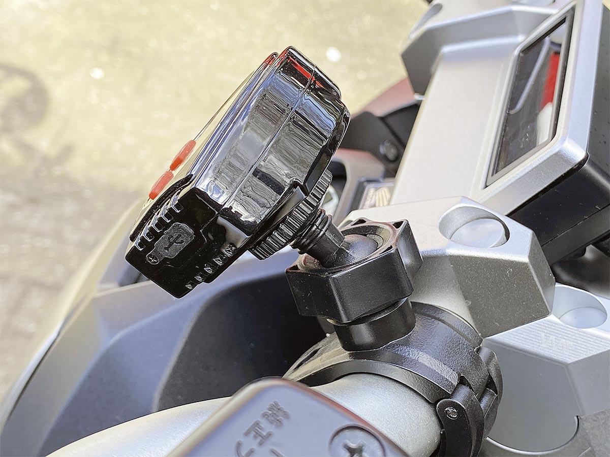 Lenker- oder Klebehalterung - Tyre Boy Reifendruckkontrollsystem
