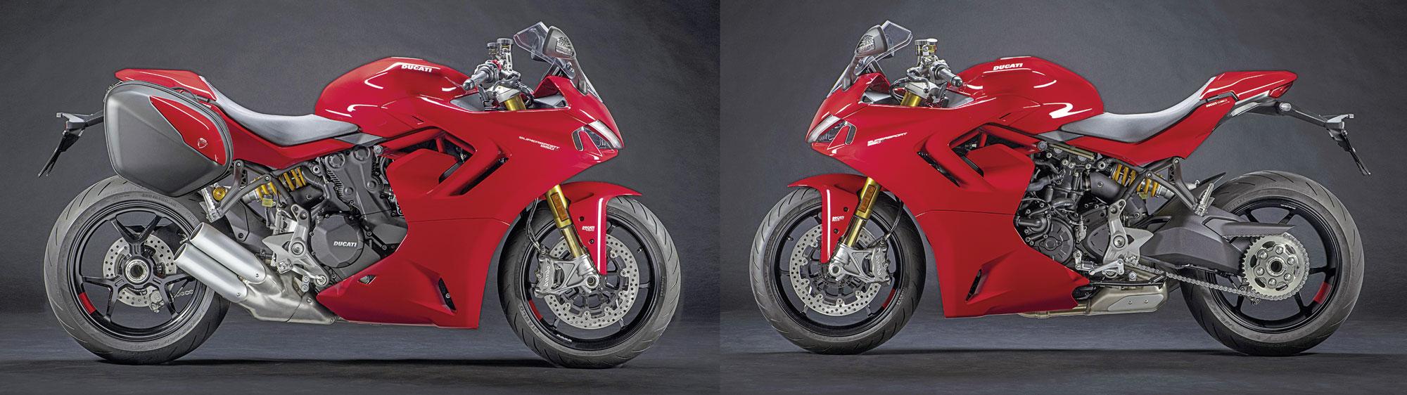 Koffersatz Ducati Supersport 950 S, Modell 2021