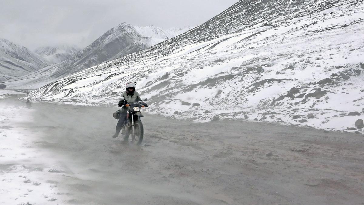 Strapazen im Pamir-Gebirge