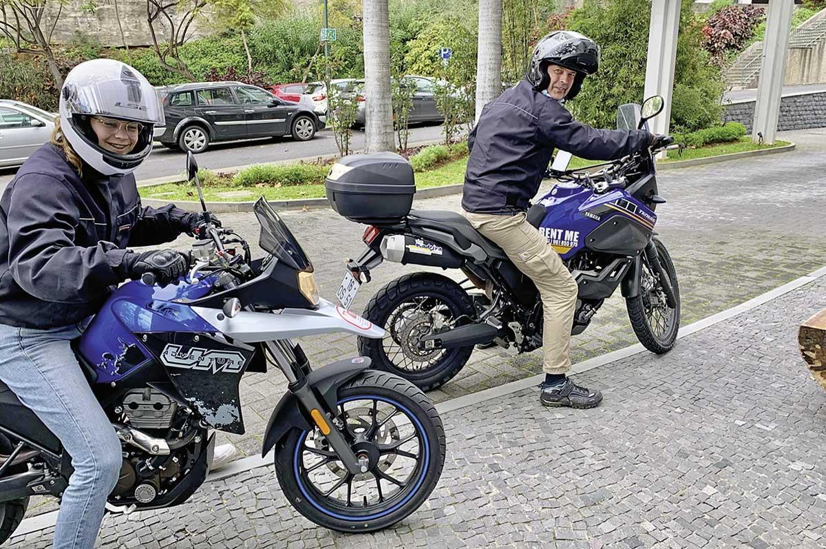 Motorradfahren auf Madeira