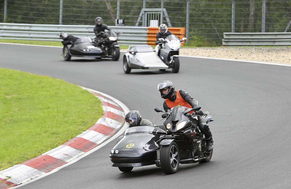 Nordschleife Pro Sidecar Gespanntraining (Foto: pixelrace.de)