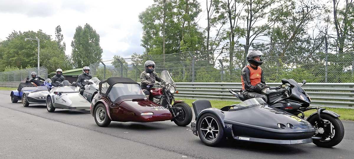 Nordschleife Pro Sidecar Gespanntraining