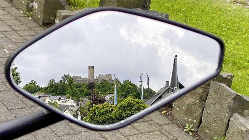 Nürburg im Rückspiegel
