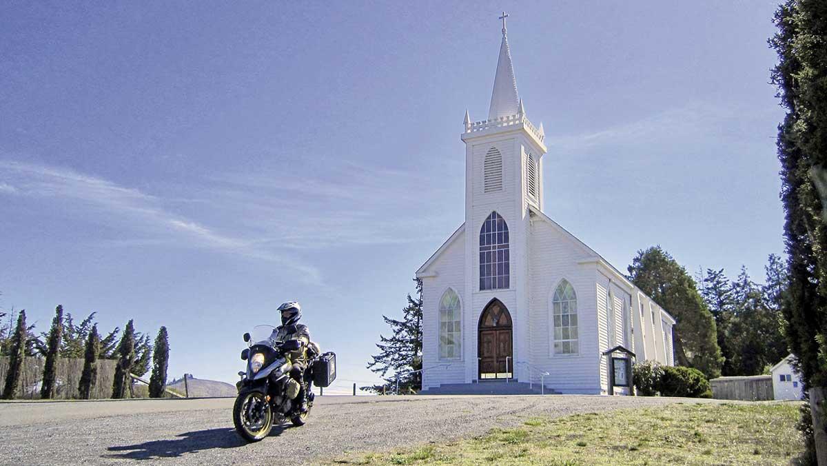 Die Kirche Saint Teresa von Avila in Bodega