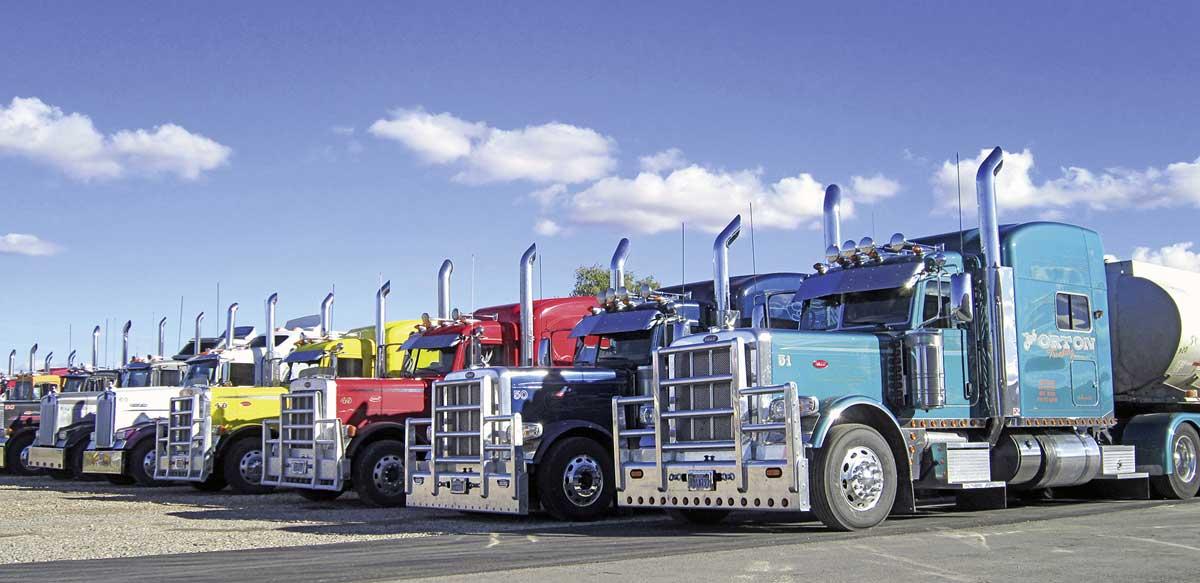 Truckstop in den USA