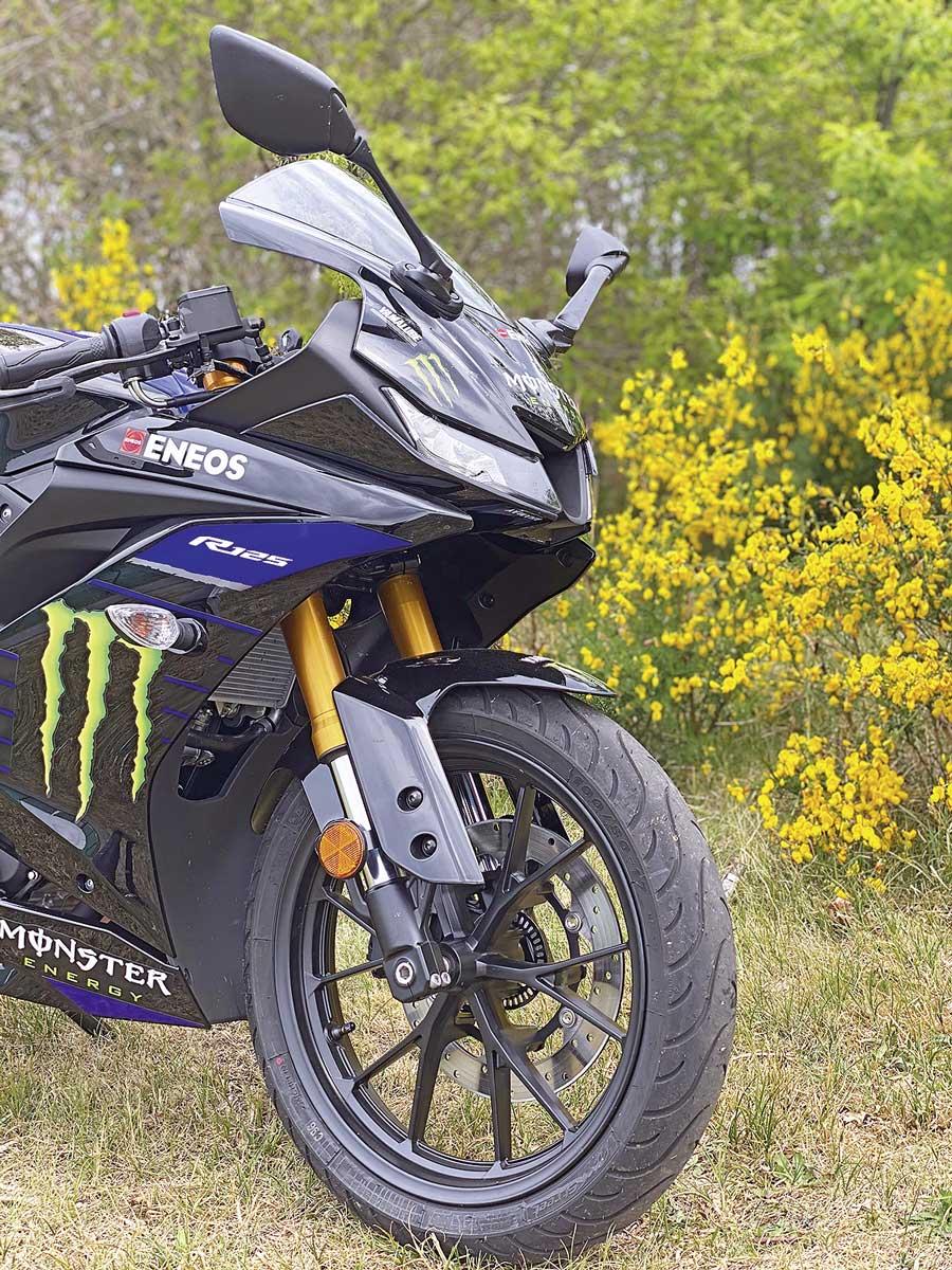 Schicker Sportler - meine Yamaha YZF-R125