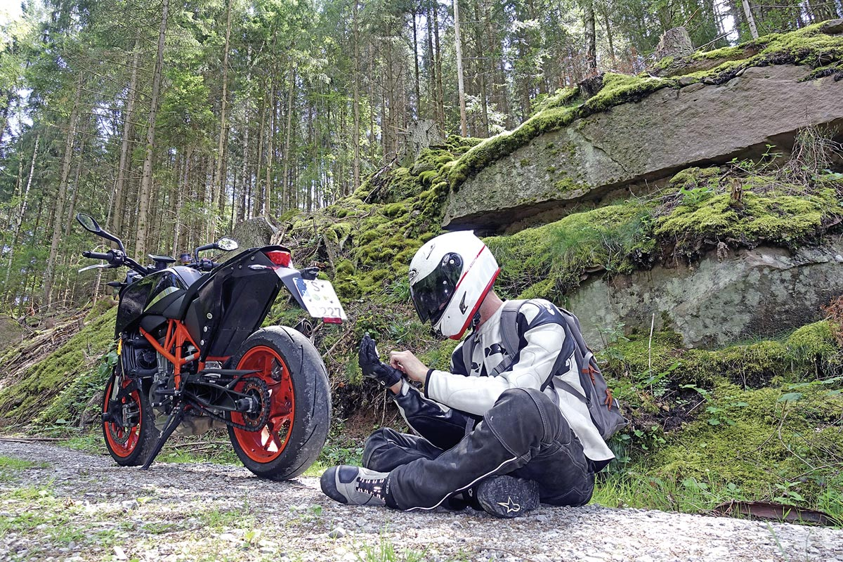 Digitale Freiheit beim Motorradfahren